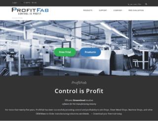 profitfab.com screenshot