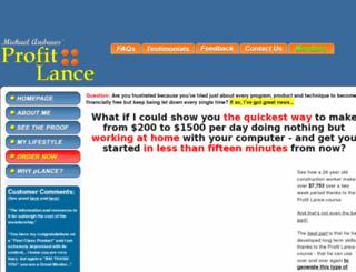 profitlance.com screenshot