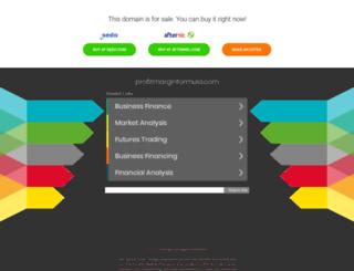 profitmarginformula.com screenshot