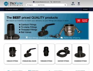 proflow-dynamics.com screenshot
