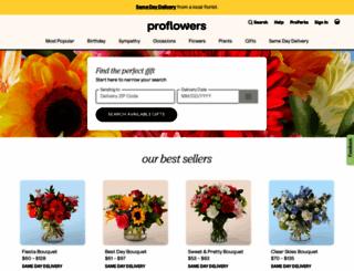 proflowers.com screenshot