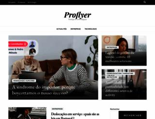 proflyer.fr screenshot