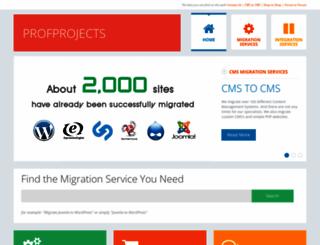 profprojects.com screenshot