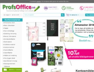 profsoffice.se screenshot