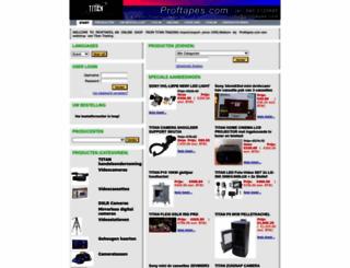 proftapes.com screenshot