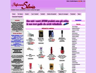 profumeriasilvia.com screenshot