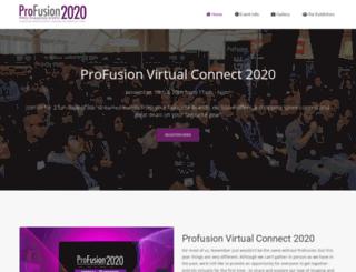 profusionexpo.com screenshot