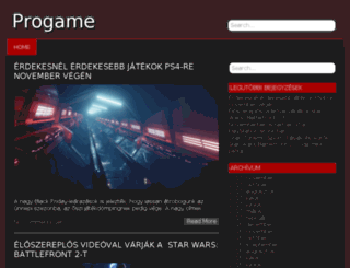 progame.hu screenshot
