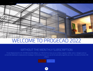 progecad.us screenshot