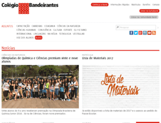 progesc.colband.com.br screenshot