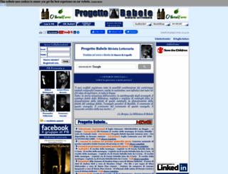 progettobabele.it screenshot