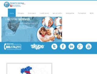 progettofamiglianetwork.it screenshot