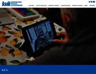 progettoreti.lafraternita.com screenshot