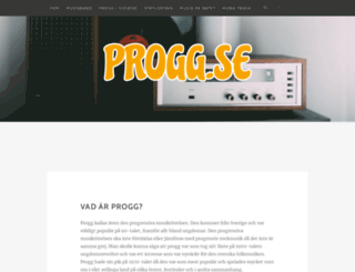 progg.se screenshot