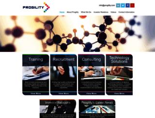 progility.com screenshot