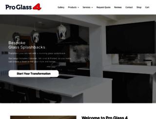 proglass4.co.uk screenshot