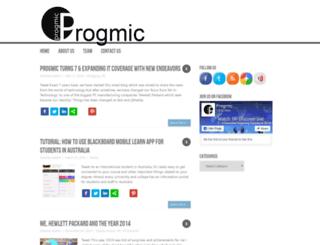 progmic.com screenshot