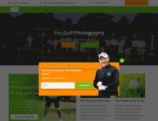 progolfphotography.com screenshot