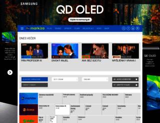 program.markiza.sk screenshot