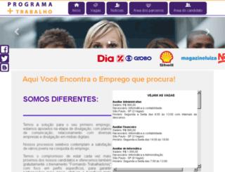 programamaistrabalho.com.br screenshot