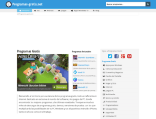 programas-gratis.net screenshot