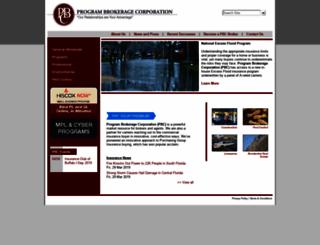 programbrokerage.com screenshot