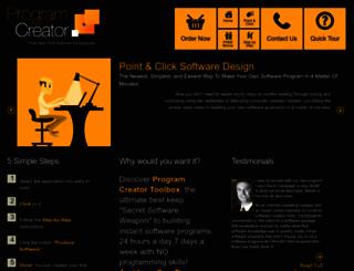 programcreator.com screenshot