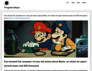 programcritique.com screenshot
