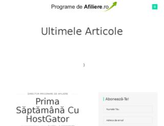 programedeafiliere.ro screenshot