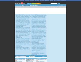 programetv.program24.ro screenshot