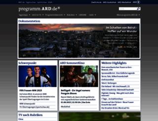 programm.ard.de screenshot
