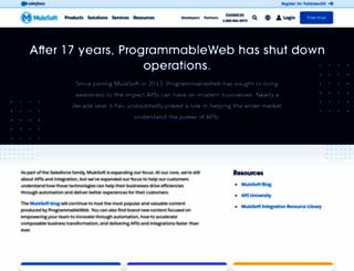 programmableweb.com screenshot