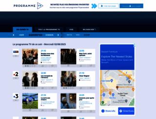 programme-tv.com screenshot