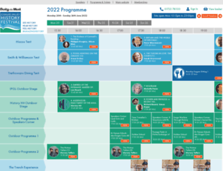 programme.cvhf.org.uk screenshot