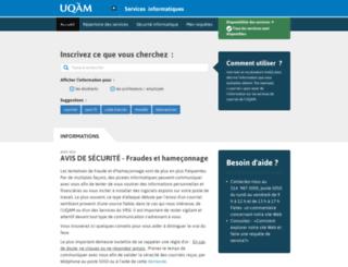 programmes.uqam.ca screenshot