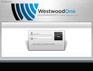 programming.westwoodone.com screenshot