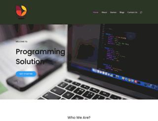 programmingsolution.net screenshot