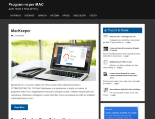 programmipermac.com screenshot