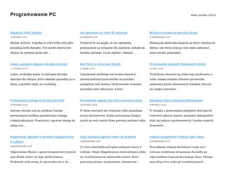 programowaniepc.pl screenshot