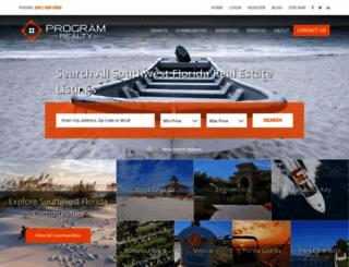 programrealty.com screenshot