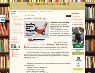 programsformca.com screenshot