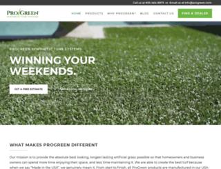 progreen.com screenshot