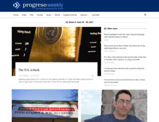 progresoweekly.us screenshot