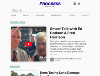 progress.org screenshot