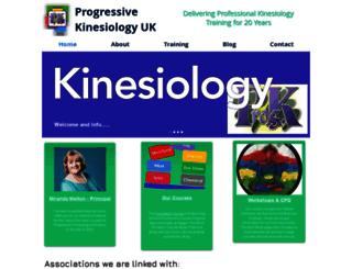 progressive-kinesiology.co.uk screenshot