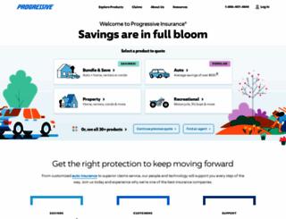 progressive.com screenshot