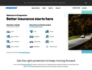 progressivedirect.com screenshot