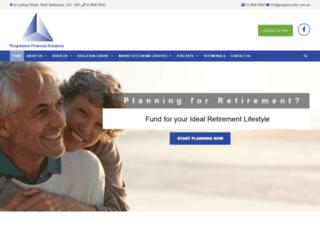 progressivefs.com.au screenshot