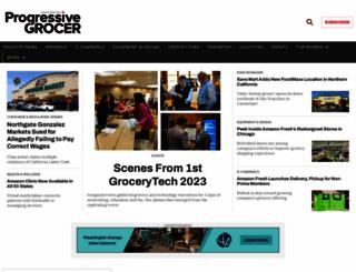 progressivegrocer.com screenshot