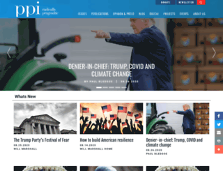 progressivepolicy.org screenshot